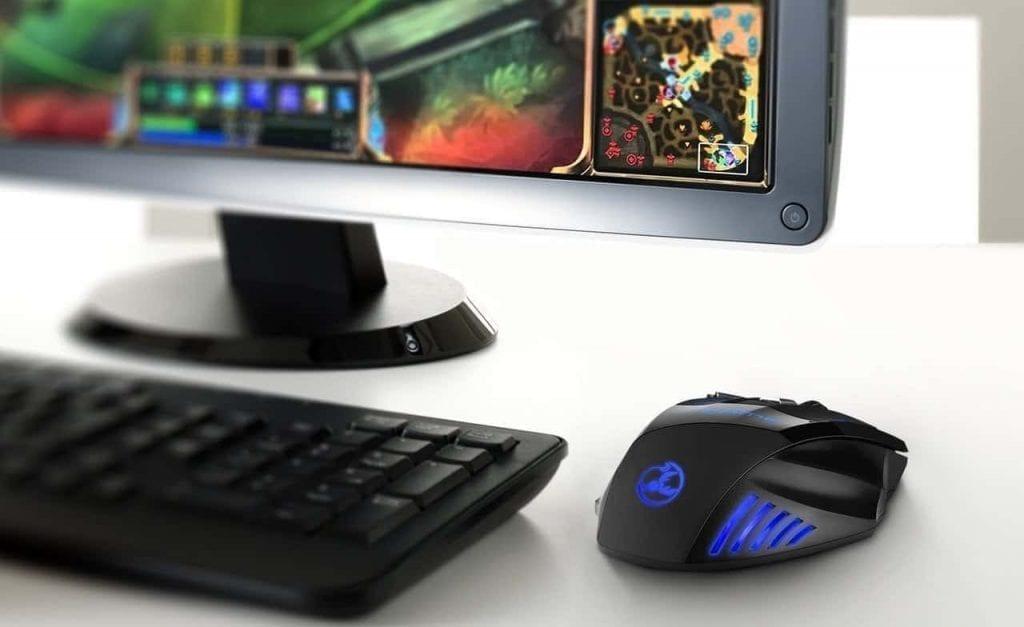 Raton Gaming zelotes para juegos
