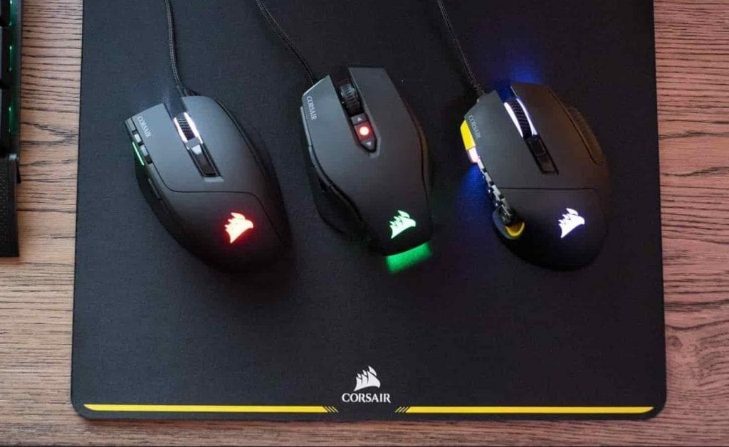 mouse gaming corsair características