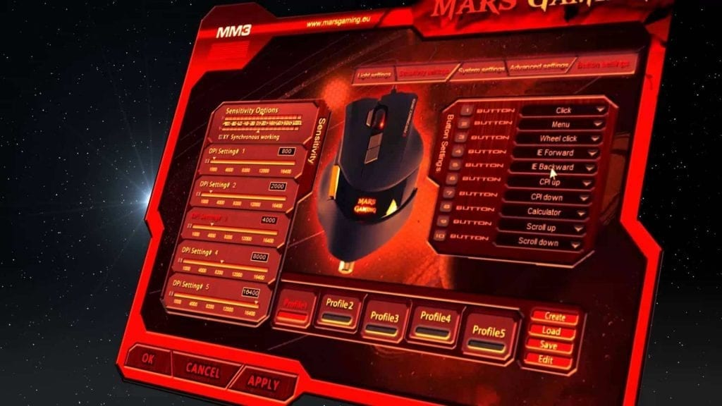 mars gaming mm3 software