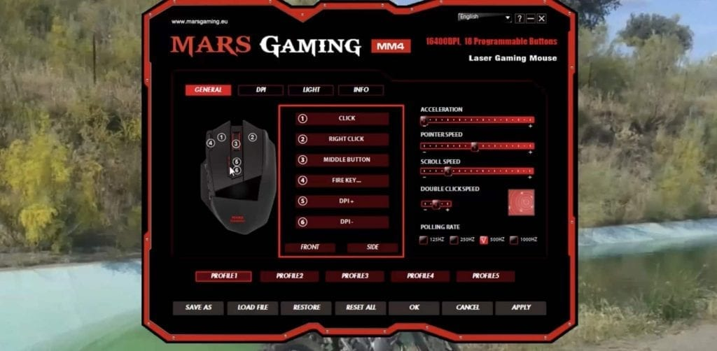mars gaming mm4 configurar