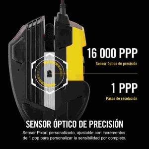 Corsair Scimitar Pro RGB caracteristicas