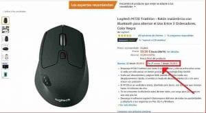 Logitech M720 Triatlon segunda mano