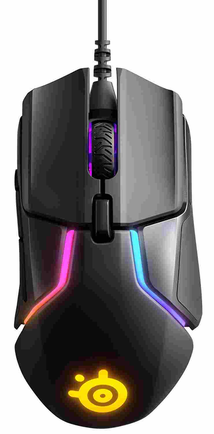 SteelSeries rival 600 reseña